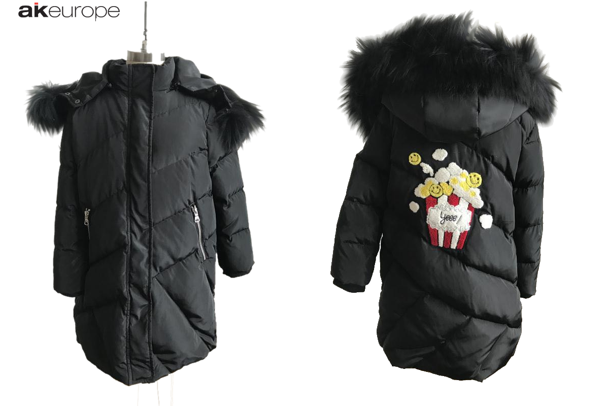 AK EUROPE JUNIOR DOWN JACKET PRODUCTION-PROTOTIPIA