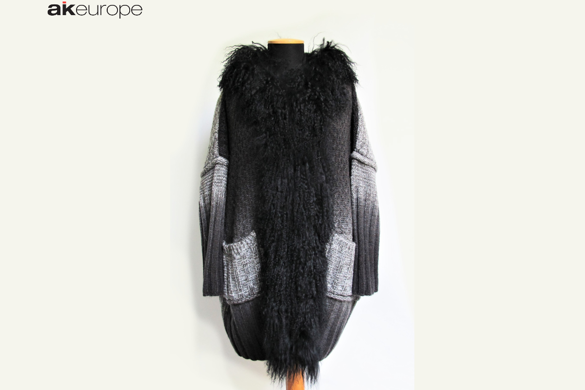 AK EUROPE WOMAN KNITWEAR FUR BULK PRODUCTION-PROTOTIPIA