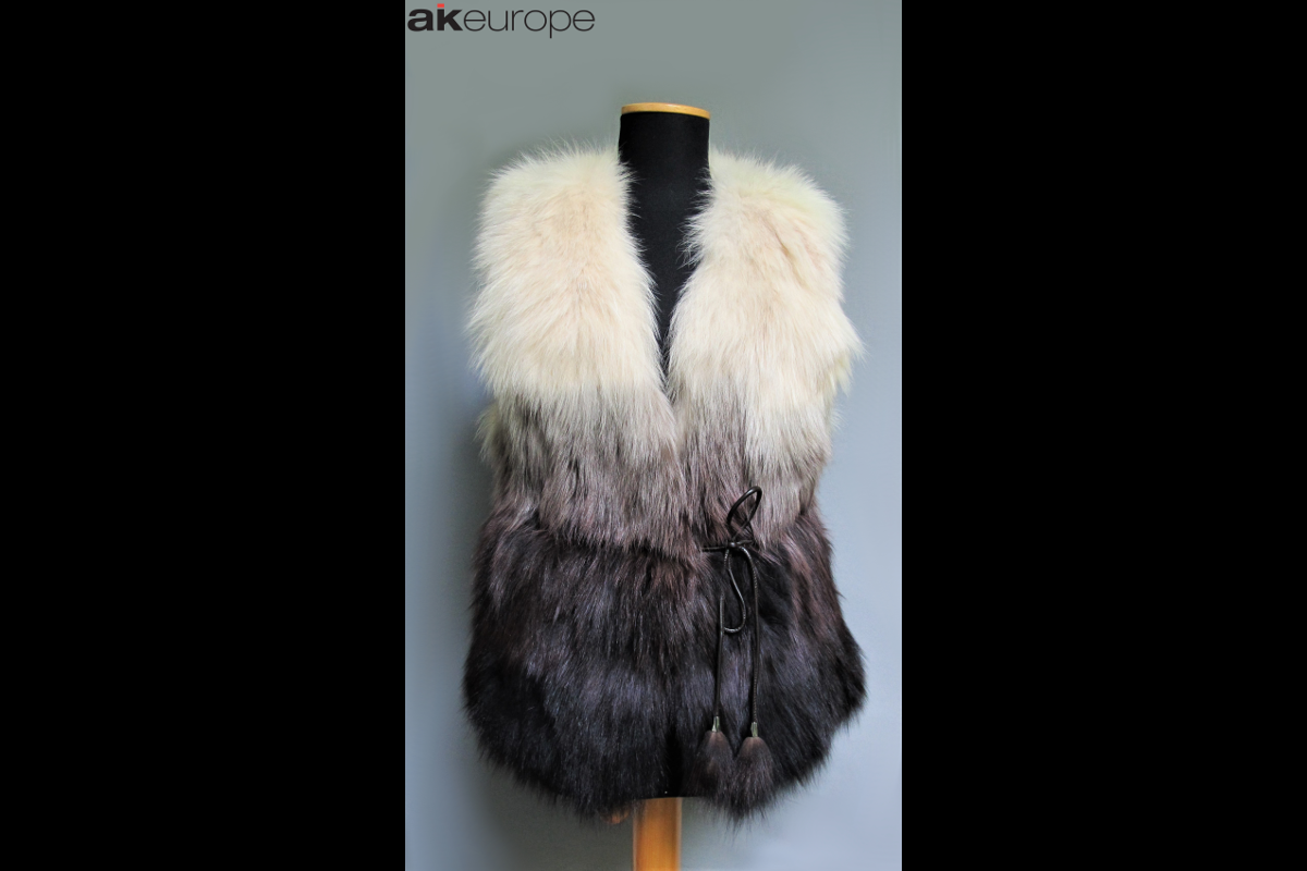AK EUROPE WOMAN VEST FUR BULK PRODUCTION-PROTOTIPIA