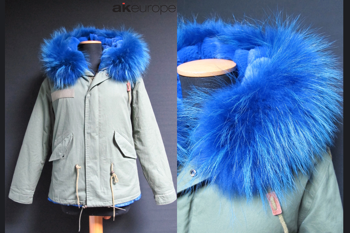 AK EUROPE WOMAN PARKA DOWN JACKET BULK PRODUCTION-PROTOTIPIA