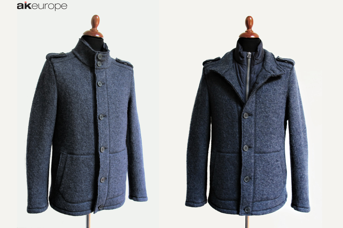 AK EUROPE MAN WOOL DOWN JACKET BULK PRODUCTION-PROTOTIPIA