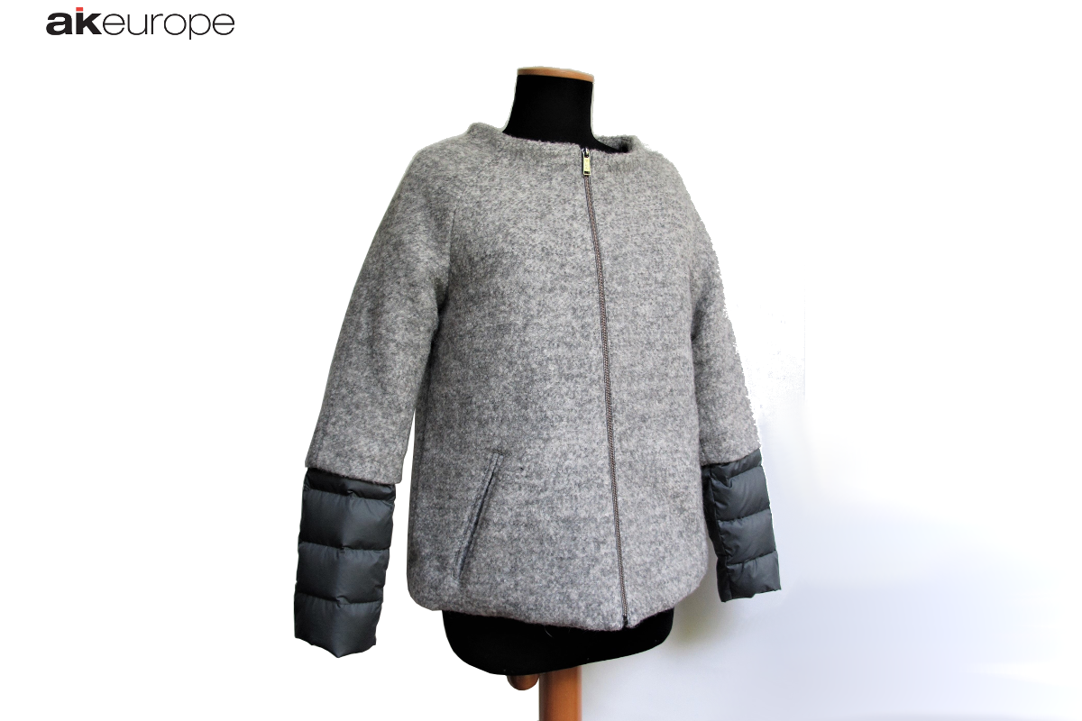 AK EUROPE WOMAN DOWN JACKET BULK PRODUCTION-PROTOTIPIA