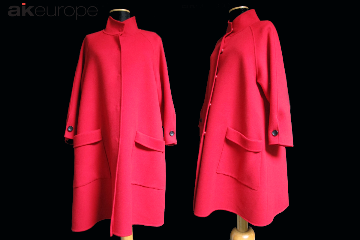 AK EUROPE WOMAN WOOL COAT JACKET BULK PRODUCTION-PROTOTIPIA