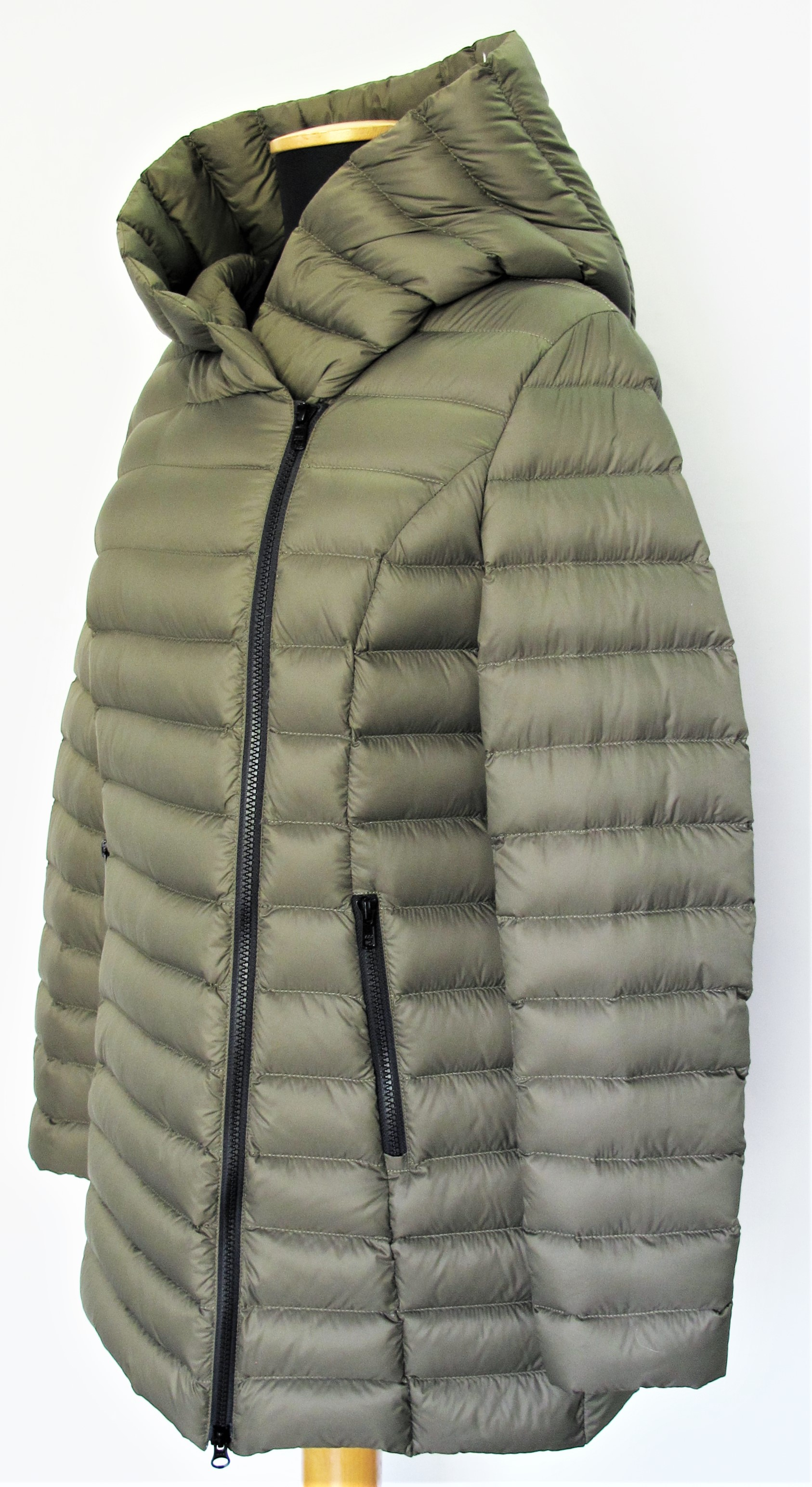 woman down jacket