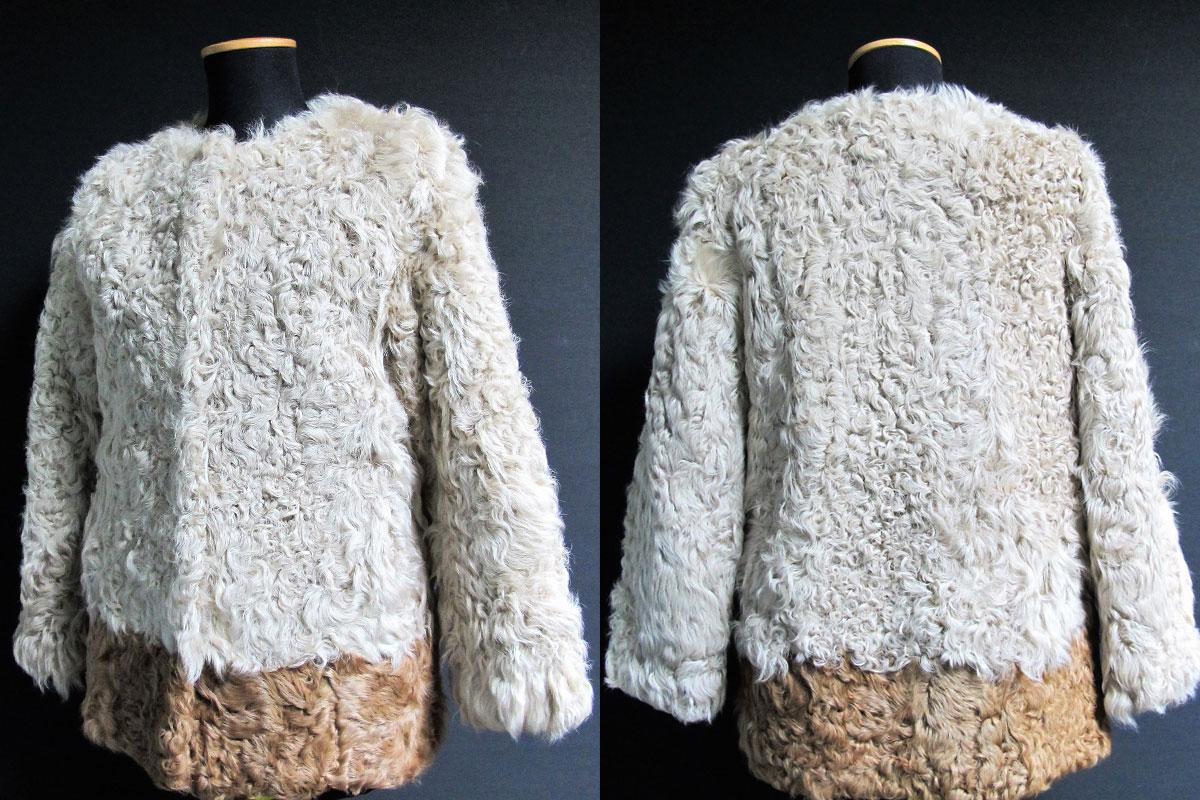 giacchina in pelliccia d'agnello - akeurope