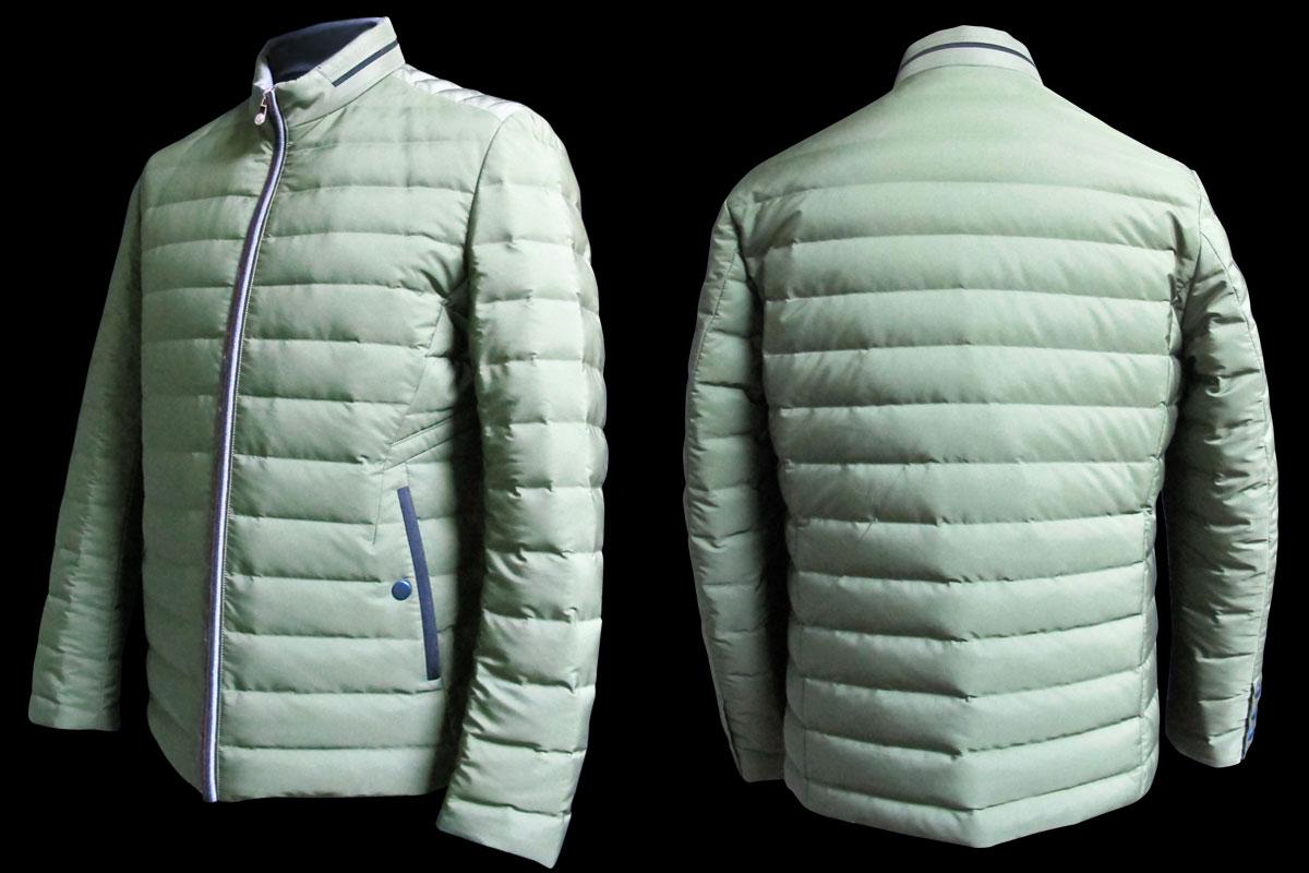 piumini abbigliamento produzione