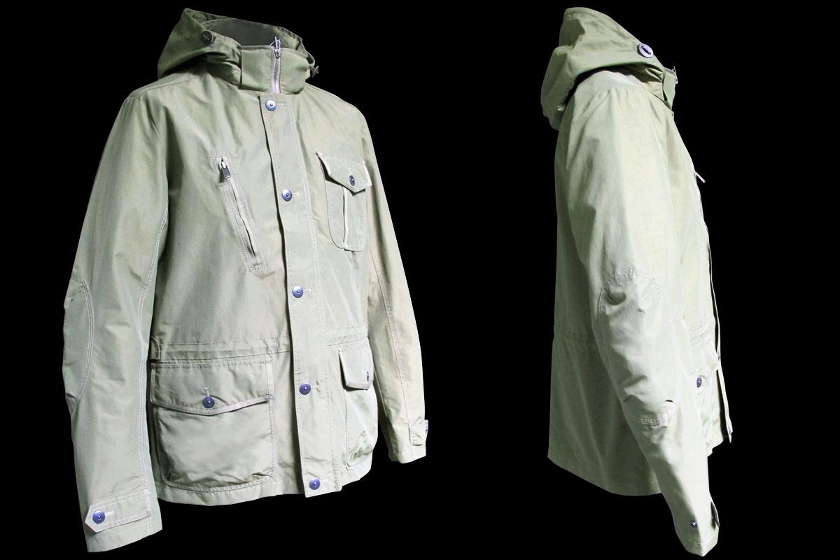 Spring man jacket, green AK EUROPE