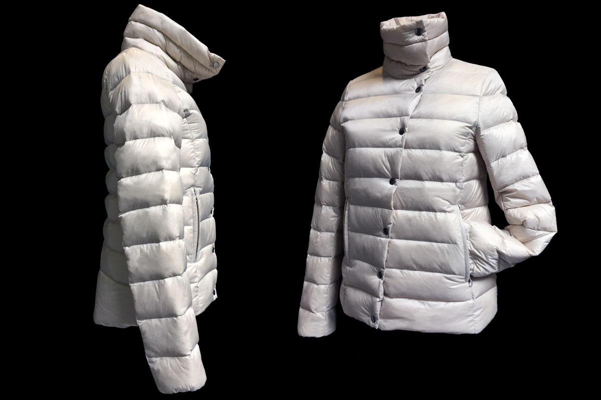 Woman short jacket - white AK EUROPE