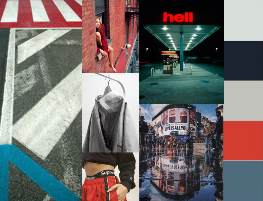 AK EUROPE RED CITY COLOR CARD LOOKBOOK TREND