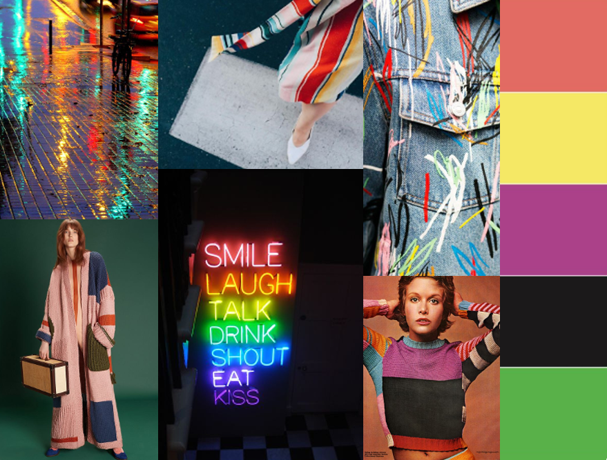 AK EUROPE COLORFULL COLOR CARD LOOKBOOK TREND