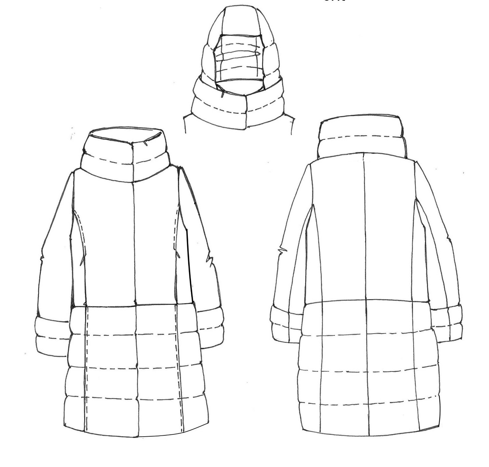 AK EUROPE JACKET DRAWINGS