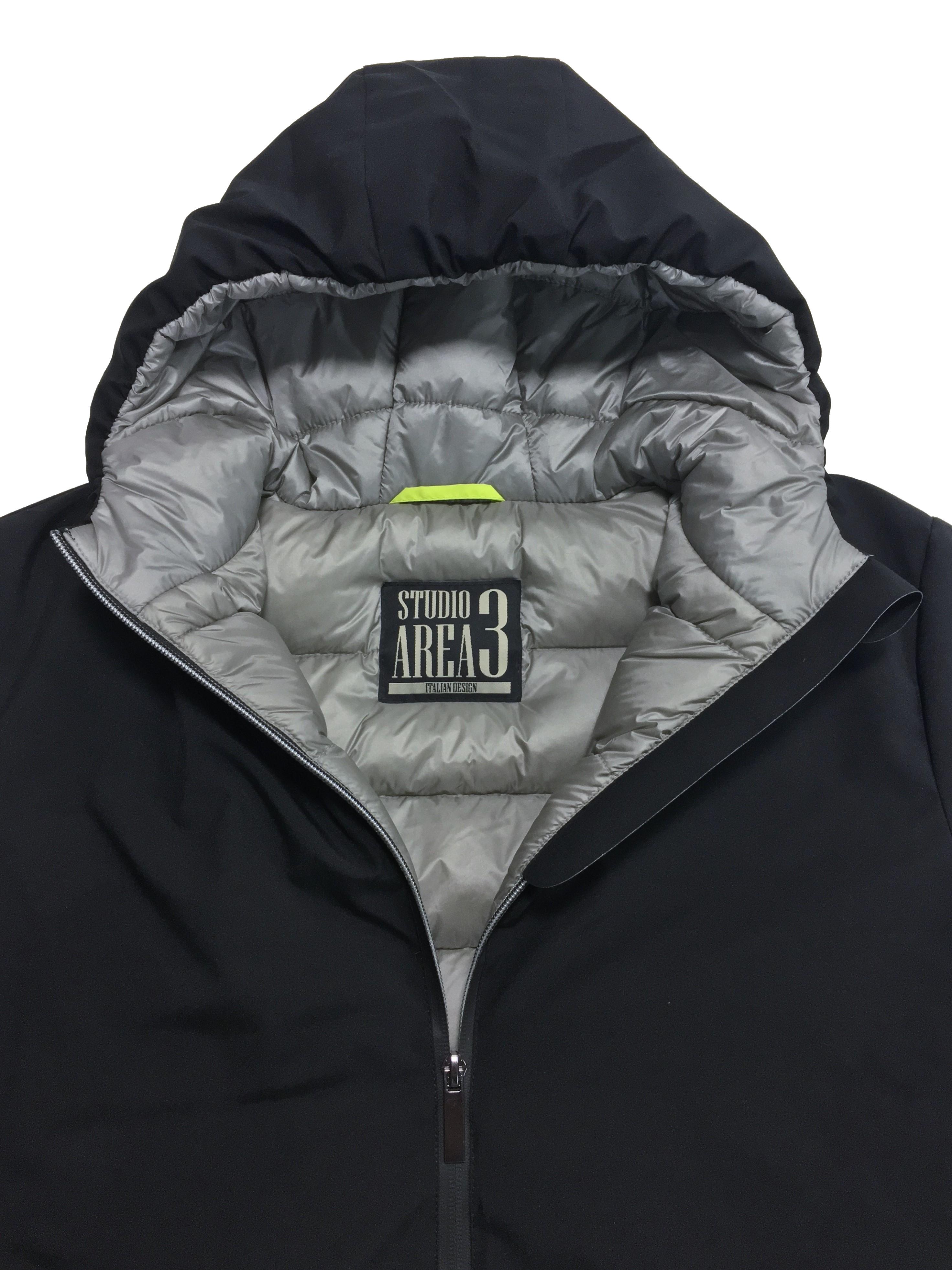 men winter down jacket studio area 3